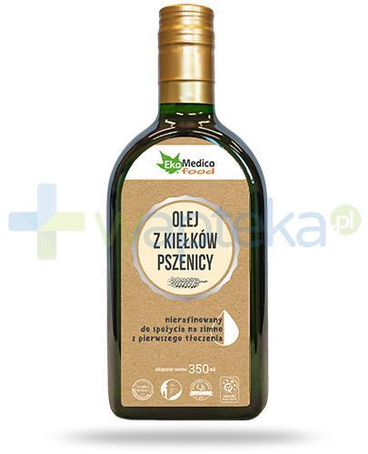 EkaMedica Food olej z kiełków pszenicy nierafinowany 350 ml