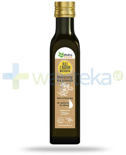 EkaMedica Food olej z nasion wiesiołka tłoczony na zimno nierafinowany 250 ml