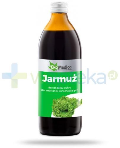 EkaMedica Jarmuż sok pasteryzowany 500 ml [Data ważności 15-03-2019]