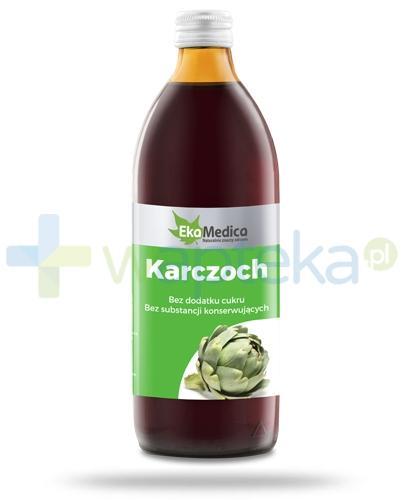 EkaMedica Karczoch sok pasteryzowany 1000 ml