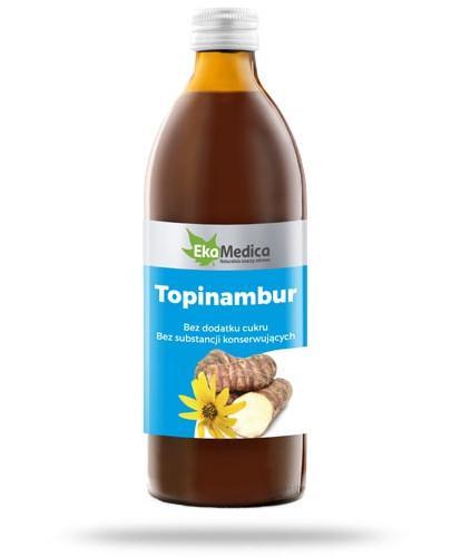 EkaMedica Topinambur sok z bulw topinamburu pasteryzowany 500 ml