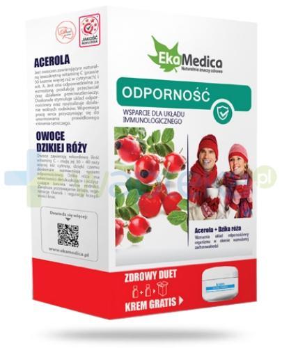 EkaMedica Zdrowy Duet Odporność Acerola + Dzika Róża 2x 500 ml [ZESTAW]