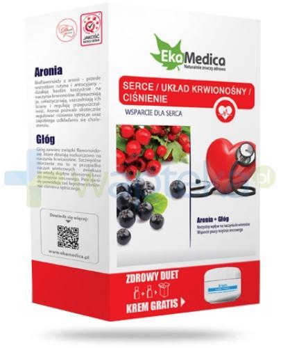 EkaMedica Zdrowy Duet Serce Układ Krwionośny Ciśnienie Aronia + Głóg  2x 500 ml [ZESTAW]
