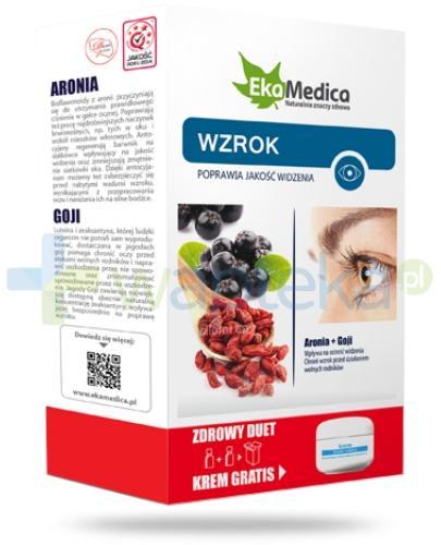 EkaMedica Zdrowy Duet Wzrok Aronia + Goji  2x 500 ml [ZESTAW]