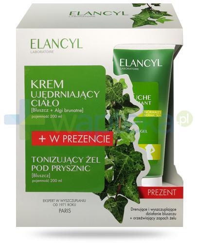 Elancyl krem intensywnie ujędrniający do ciała 200 ml + Elancyl tonizujący żel pod prysznic 200 ml [ZESTAW]