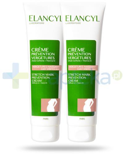 Elancyl krem przeciw rozstępom 2x 150 ml [DWUPAK]