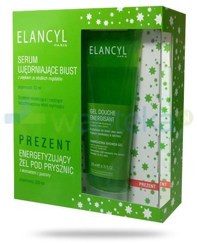 Elancyl ZESTAW serum ujędrniające biust 50 ml + żel energetyzujący pod prysznic 200 ml