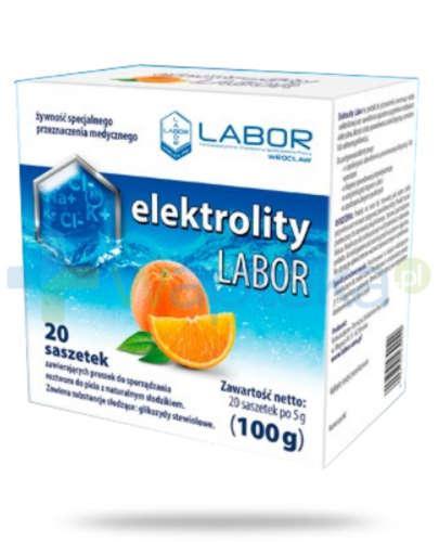 Elektrolity Labor 20 saszetek