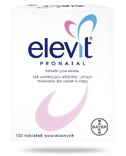 Elevit Pronatal 100 tabletek [Data ważności 31-12-2019]