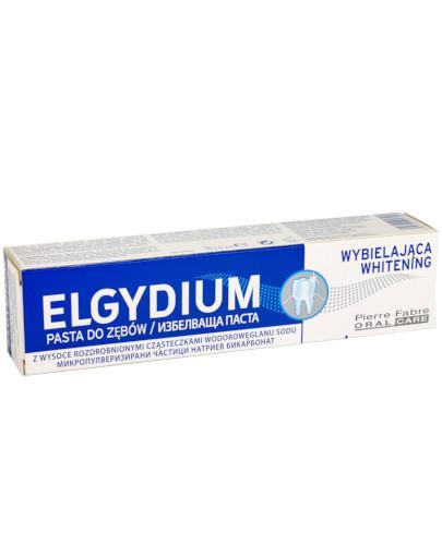 Elgydium Whitening pasta wybielająca do zębów 75 ml