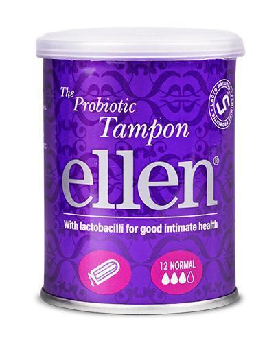Ellen Normal tampony probiotyczne 12 sztuk
