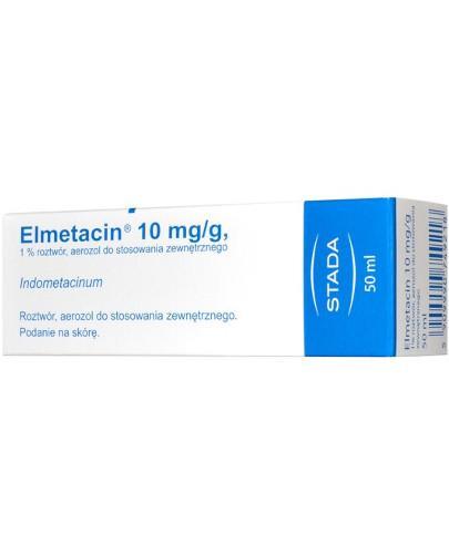 Elmetacin aerozol leczniczy 50 ml