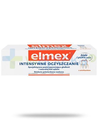 Elmex Intensywne Oczyszczanie z aminofluorkiem pasta do zębów 50 ml