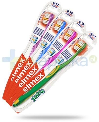 Elmex Junior szczoteczka miękka do zębów dla dzieci 6-12 lat 1 sztuka