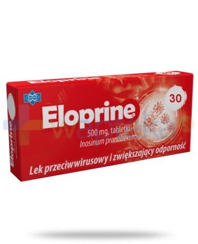Eloprine 500 mg 30 tabletek