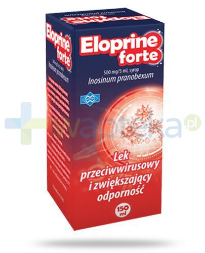 Eloprine Forte syrop 0,5g/5ml przeciwwirusowy zwiększający odporność 150 ml