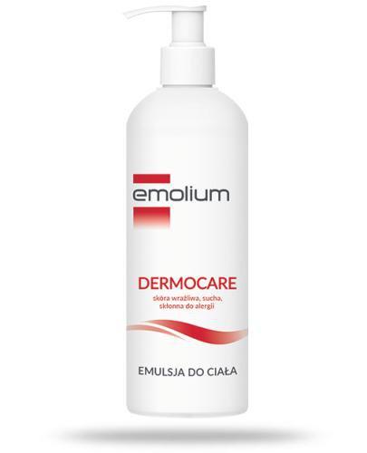 Emolium Dermocare emulsja do ciała od urodzenia 400 ml