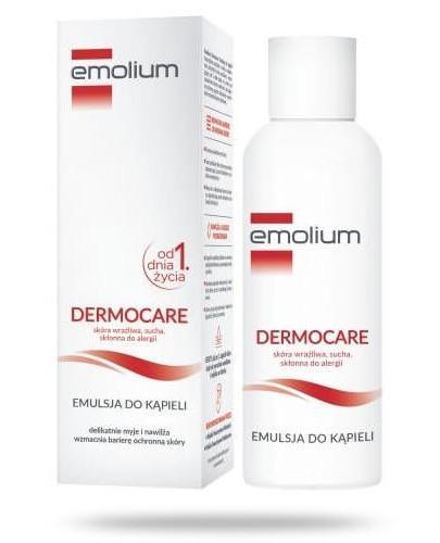Emolium Dermocare emulsja do kąpieli od urodzenia 400 ml