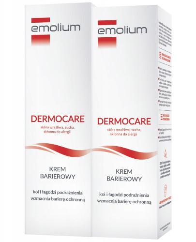 Emolium Dermocare krem barierowy 2 x 50 ml [DWUPAK]