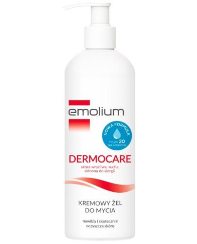 Emolium Dermocare kremowy żel do mycia od 1 miesiąca 400 ml [NOWA FORMUŁA]