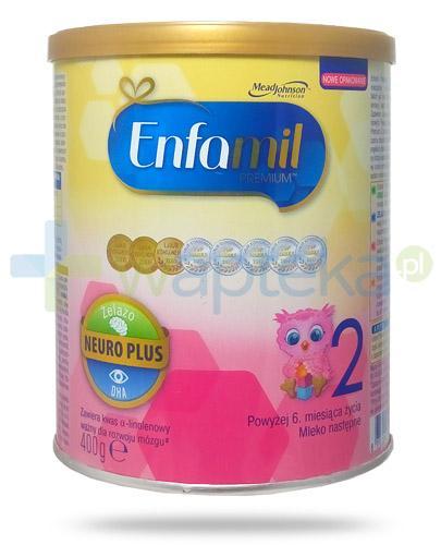 Enfamil 2 Premium DHA mleko dla dzieci 6m+ 400 g