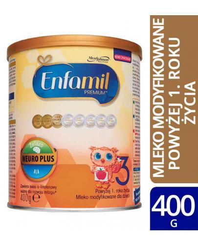 Enfamil 3 Premium mleko w proszku dla dzieci 12m+ 400 g