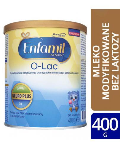 Enfamil O-Lac mleko w proszku na biegunkę i wzdęcia dla dzieci 0m+ 400 g