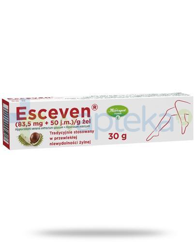 Esceven żel (83,5 mg + 50 j.m.)/g 30 g