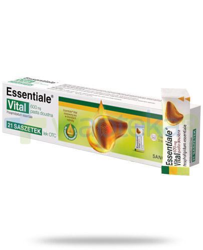Essentiale Vital 600mg pasta doustna 21 saszetek