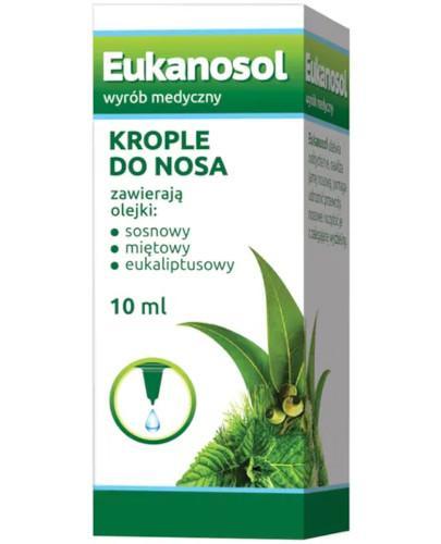 Eukanosol krople do nosa 10 ml