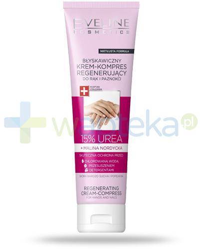 Eveline 15% Urea błyskawiczny krem-kompres regenerujący do rąk i paznokci 75 ml