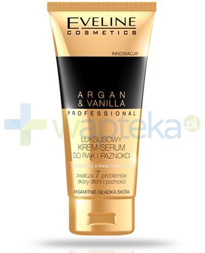 Eveline Argan & Vanilla Professional luksusowy krem-serum do rąk i paznokci 100 ml