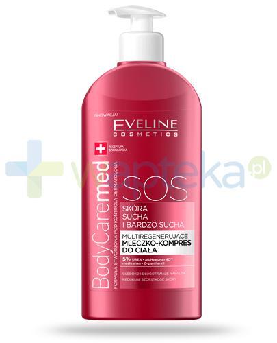 Eveline BodyCare Med+ SOS multiregenerujące mleczko-kompres do ciała 350 ml