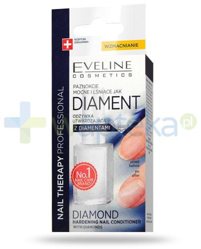 Eveline Nail Therapy Diamond odżywka utwardzająca z diamentami do paznokci 12 ml
