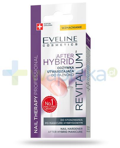 Eveline Nail Therapy Revitalum After Hybrid odżywka utwardzająca do paznokci 12 ml