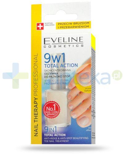 Eveline Nail Therapy Total Action 9w1 skoncentrowana odżywka do stóp 12 ml