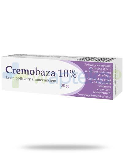 Cremobaza 10% krem półtłusty z mocznikiem 30 g