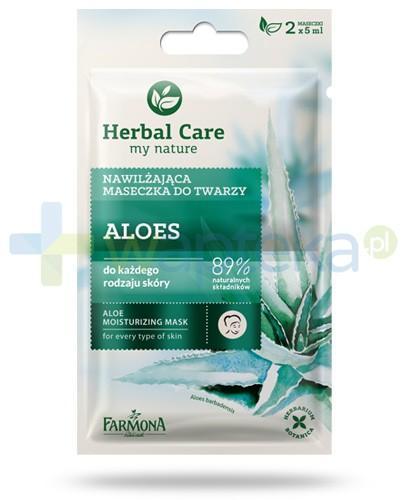 Farmona Herbal Care Aloes nawilżająca maseczka do twarzy 2x 5 ml