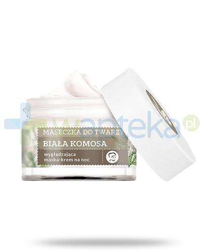 Farmona Herbal Care Biała Komosa wygładzająca maska-krem do twarzy na noc 50 ml