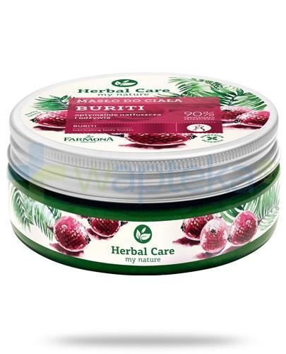 Farmona Herbal Care Buriti masło do ciała optymalnie natłuszcza i odżywia 200 ml