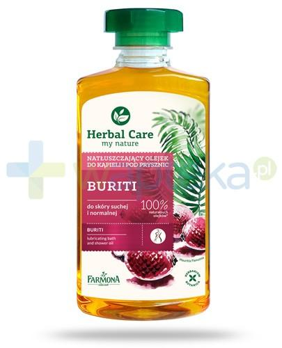 Farmona Herbal Care Buriti natłuszczający olejek do kąpieli i pod prysznic 300 ml