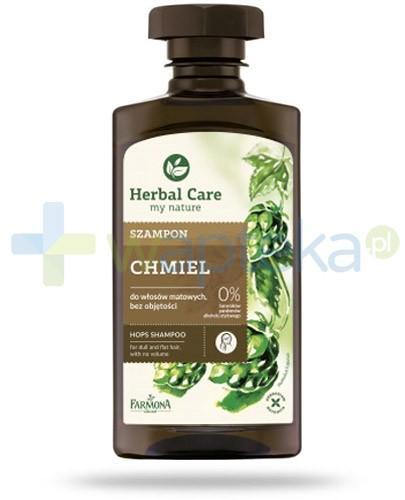 Farmona Herbal Care Chmiel szampon do włosów matowych pozbawionych objętości 330 ml