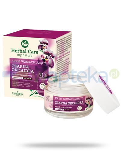 Farmona Herbal Care Czarna orchidea krem wzmacniający do skóry naczynkowej 50 ml
