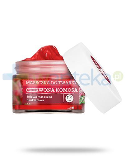 Farmona Herbal Care Czerwona Komosa ze smocza krwią liftingująco-rożswietlająca maseczka do twarzy 50 ml