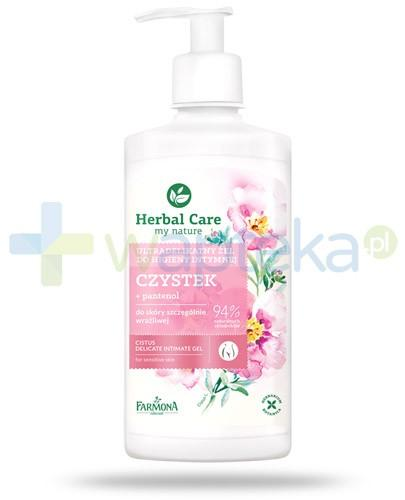 Farmona Herbal Care Czystek ultradelikatny żel do higieny intymnej z pantenolem 330 ml