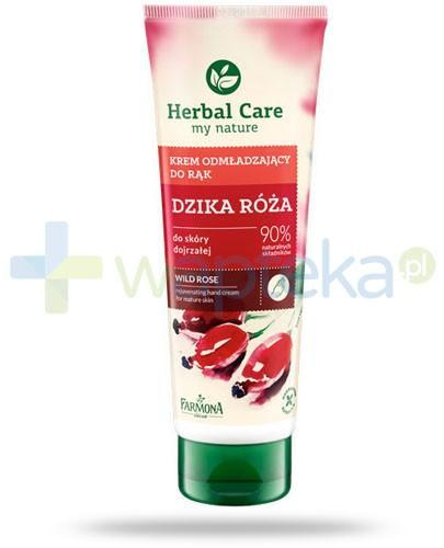 Farmona Herbal Care Dzika róża krem odmładzający do rąk do skóry dojrzałej 100 ml