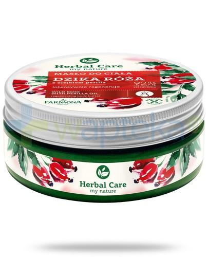Farmona Herbal Care Dzika róża masło do ciała z olejkiem perilla 200 ml