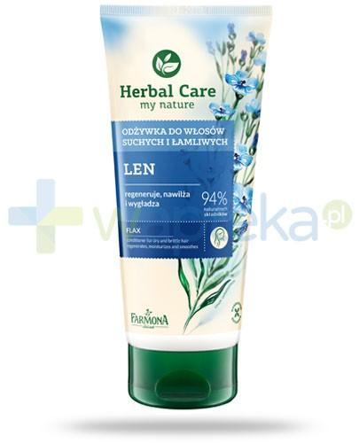 Farmona Herbal Care Len odżywka do włosów suchych i łamliwych 200 ml