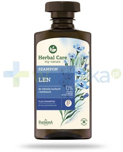Farmona Herbal Care Len szampon do włosów suchych i łamliwych 330 ml