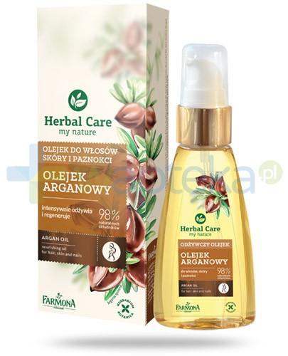 Farmona Herbal Care Olejek arganowy do włosów skóry i paznokci 55 ml